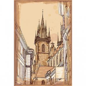 Прага в векторах