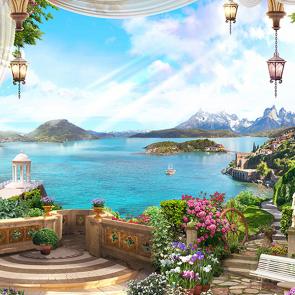 Прекрасный берег Италии