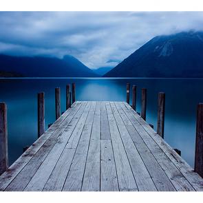 Причал на озере