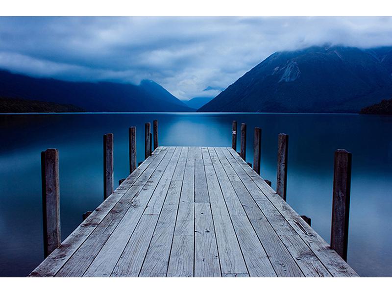 Причал на озере 1273