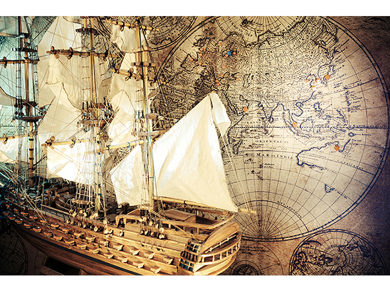 Карта мира и путешествия 2344
