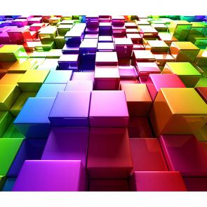 Радужные кубики