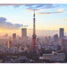 Рассвет в Токио