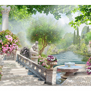 Сад в раю теплый