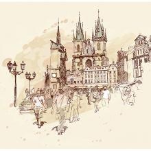 Рисованная Прага