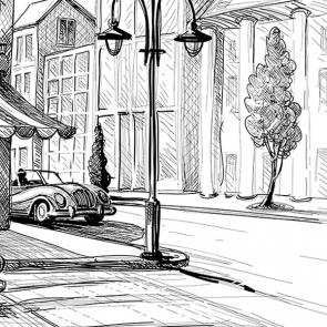 Рисованная улица