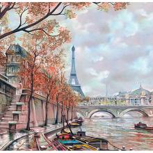 Рисованный Париж