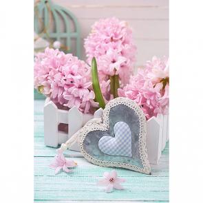 Розовые гиацинты 2