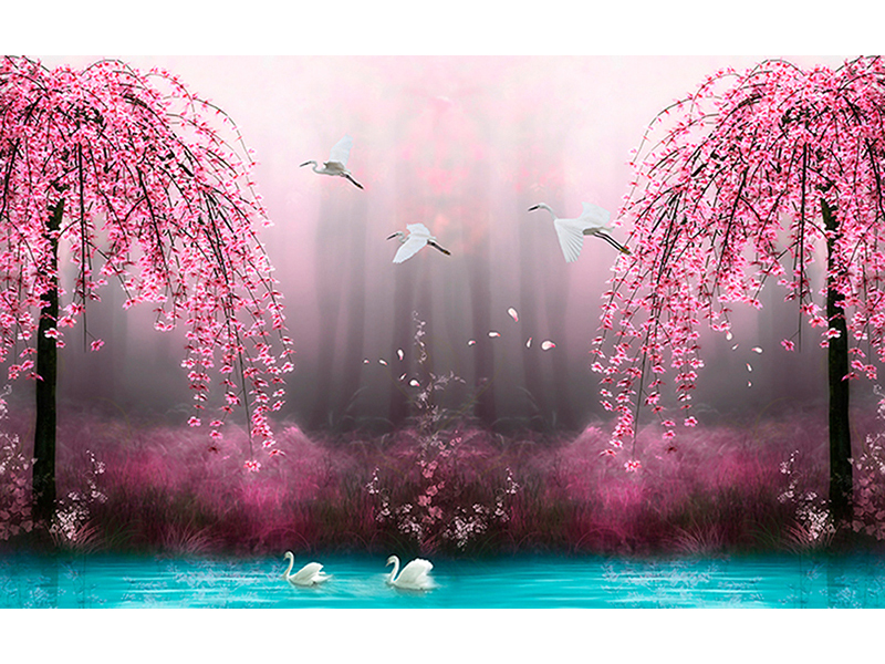 Розовые ивы 1227