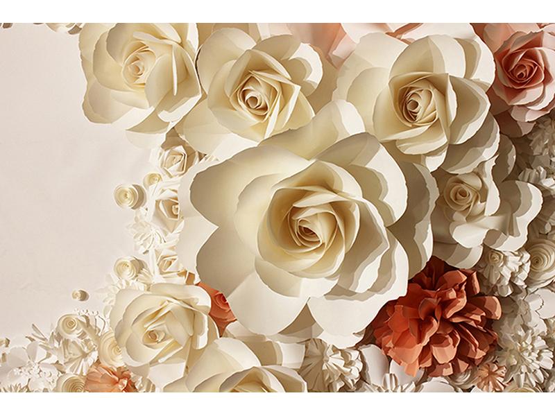 Розы 3д 1224