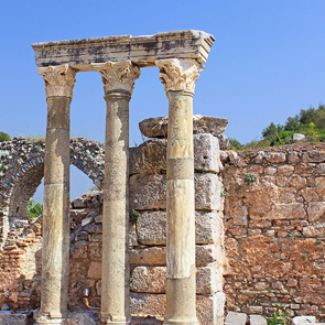 Руины греческого города