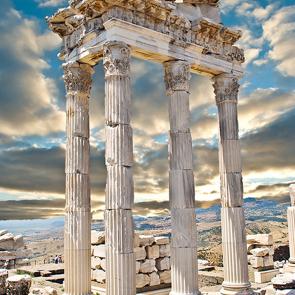 Руины в пергаме