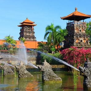 Сад в азии
