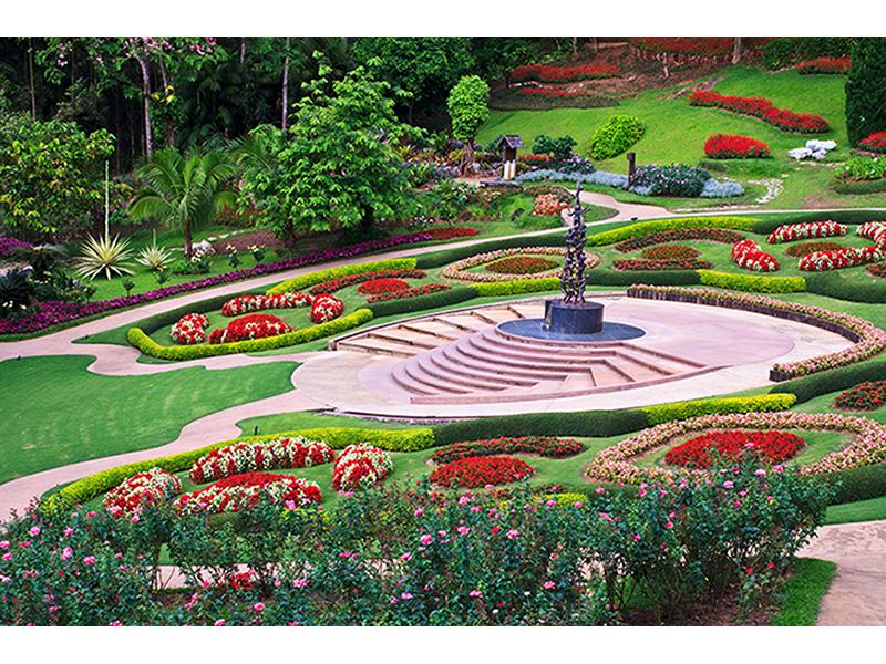 Сад в Тайланде 1204
