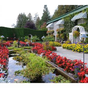 Сад в Ванкувере