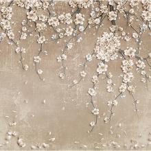 Стена с цветами