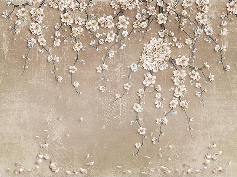 Стена с цветами 1111