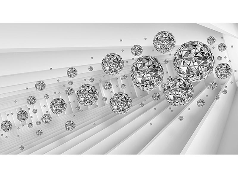 Серебряные шары 1184