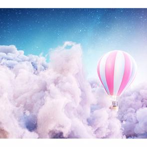 Шар в облаках