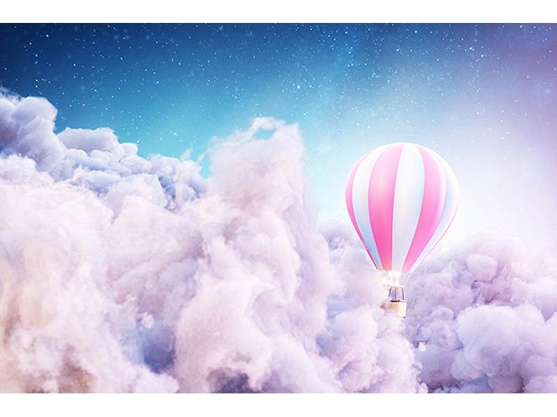 Шар в облаках 2256