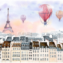 Шары над Парижем