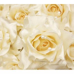 Шелковая роза