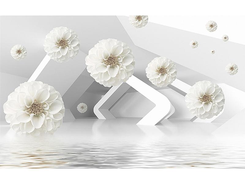 Цветы в пространстве 1014