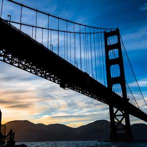Силует моста