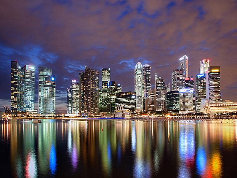 Сингапур в отражении 1177