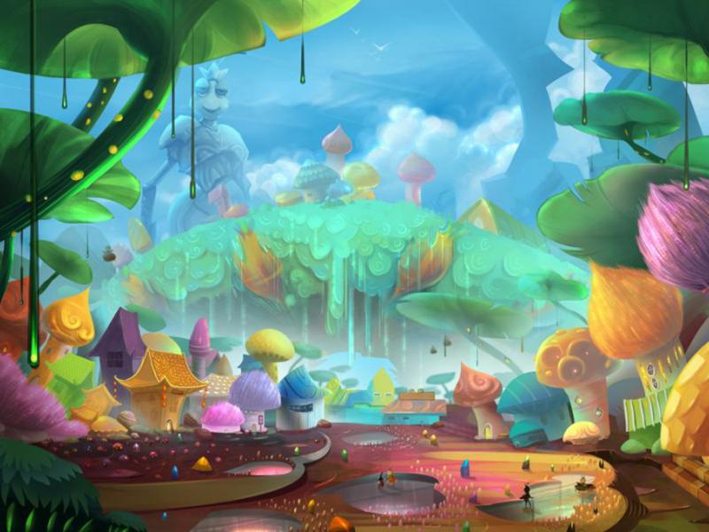 Сказочный лес 07708 7439