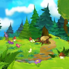 Сказочный лес 13557