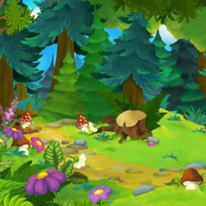 Сказочный лес 13690