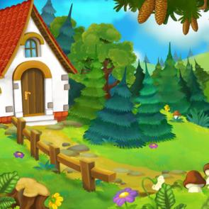 Сказочный лес 14185