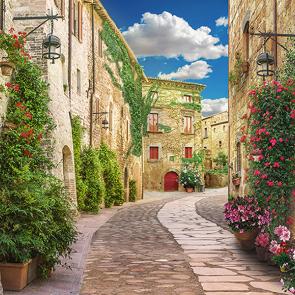 Старинная улочка в Италии