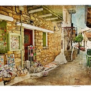 Старинный переулок