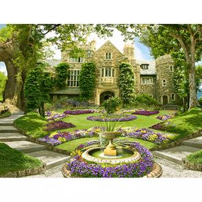 Старинный сад в поместье