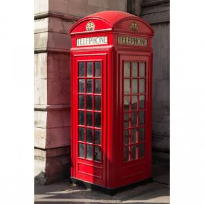 Телефонная будка в переулке