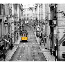 Трамвай утром