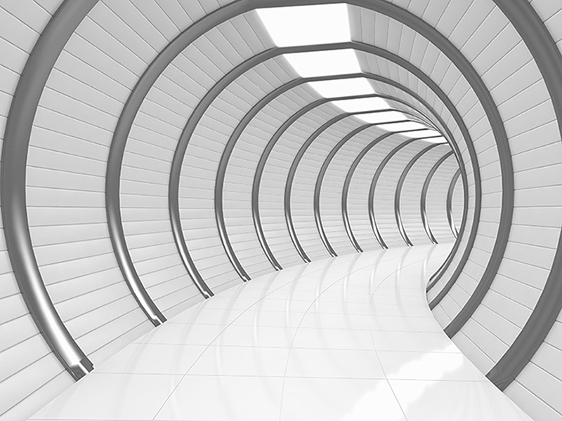 Туннель 3д 1112