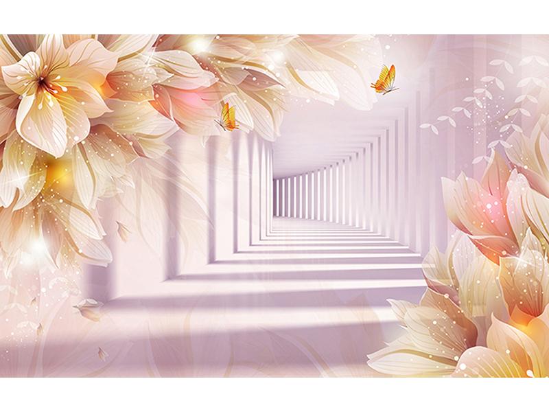 Цветущий туннель 1109