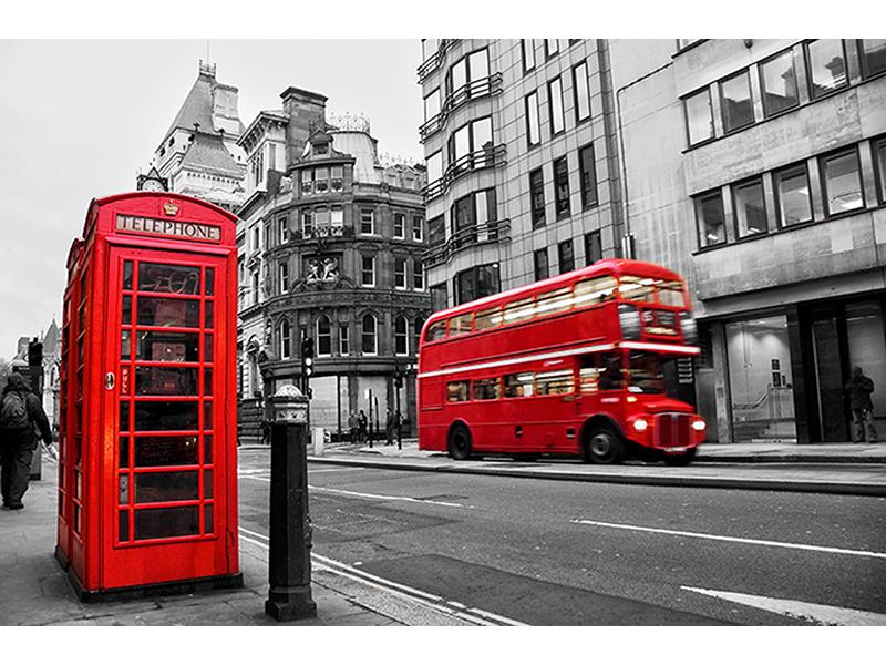 Улица Флит-стрит в Лондоне 1098