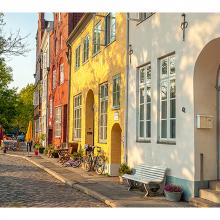 Улица в Любеке