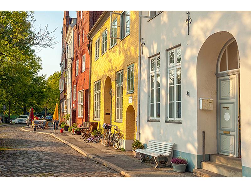 Улица в Любеке 1100