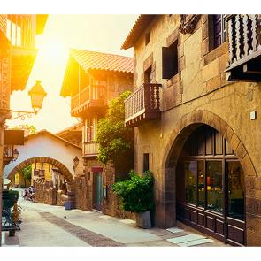 Улочка в Барселоне