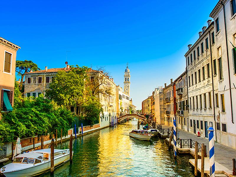 Венеция перед закатом 1901