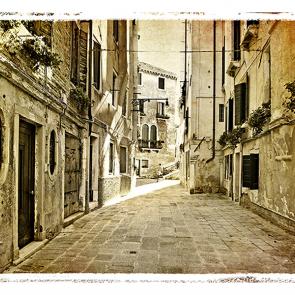 Венеция в ретро стиле