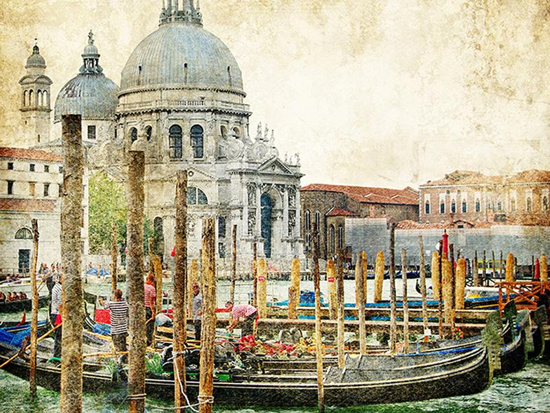 Венеция в живописном стиле 1903