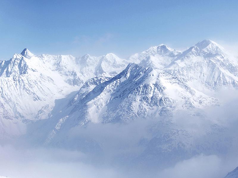 Вершина Альп 1900