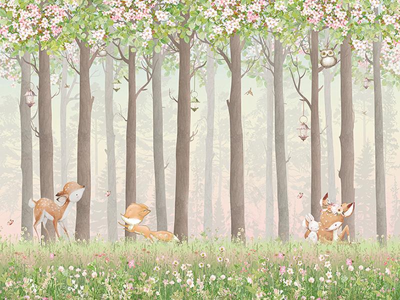 Весенний лес 2271