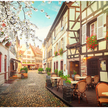 Весенний Страсбург